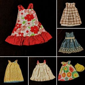 Girls Size 24 months Summer Dress Bundle